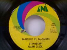 "STRAWBERRY ALARM CLOCK ""BAREFOOT IN BALTIMORE / AN ANGRY YOUNG MAN"" 45"