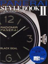 PANERAI STYLE BOOK Vol. 2 JAPAN 2004 very good