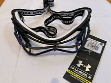 🔥 Brand New W/ Tags! Under Armour Charge Women's Lacrosse Googles Black Stx