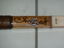 CHRIS EVERT  AUTOGRAPHED WILSON WOOD TENNIS RACQUET