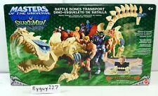 MOTU, Battle Bones, Masters of the Universe 200x, MISB, sealed box, He-Man MOC