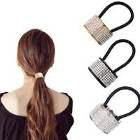 Elastico capelli fashion accessori brillantini strass coda cavallo acconciatura