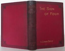 ARTHUR CONAN DOYLE The Sign of Four FIRST EDITION 1890