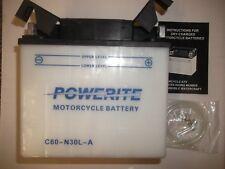 Powerite Battery 52515  53030 Y60-N30L-A  12V  30AH Bmw new  no acid