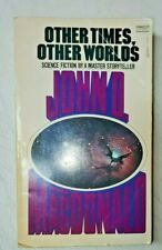 Other Times Other Worlds John MacDonald Vintage Paperback Sci-Fi Pulp Magazine