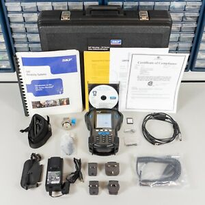 New! SKF CMXA 75 GX-Series Microlog Vibration FFT Analyzer