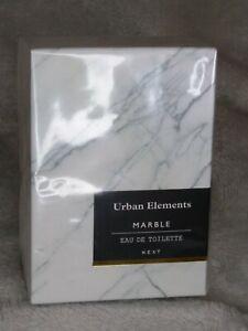 Next Urban Elements Marble EAU De Toilette  30ml new gift Lemon Leather Musk