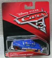 DIRT TRACK FABULOUS HUDSON HORNET - CARS_3 - DISNEY PIXAR CARS = NEW ITEM