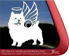 Norwich Terrier Angel Dog Memorial Window Decal