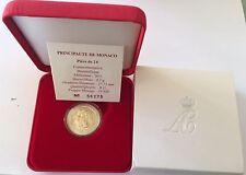MONACO 2 euro 2011, Matrimonio  S.A.S. Albert II y Charlene BU + certificado.