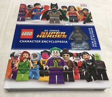 LEGO 2016 D.C. Comics Character Encyclopedia w/ Pirate Batman MiniFigure DK Book