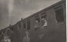 AK TRAIN LE Allemand Reichsbahn avec Passagieren environ (ak1385)