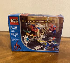 2004 LEGO Set 4853 -SPIDERMAN - Spider-Man's Street Chase NEW UNOPENED