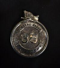 New listing Downers Grove Illinois Il Fireman Hose Fire Badge Cairns Olson Wilson Braxmar