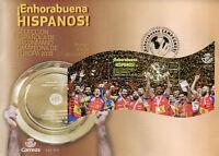 Spain 2018 FDC Handball European Champions 1v M/S Cover Sports Stamps