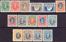 1931-35 SOUTHERN RHODESIA SG 15-27 MH CV £218 inverted are stamps perf.11½