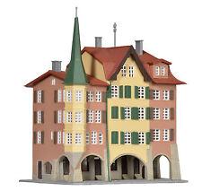 Kibri 36801 Z Gauge City Houses Biel, 3 Piece # NEW ORIGINAL PACKAGING #