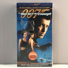 NEW SEALED The James Bond 007 Collection The World Is Not Enough VHS Video Tape