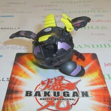 Bakugan Midnight Percival Black Darkus New Vestroia 610G & cards
