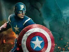 Captain America Free! Art Posters