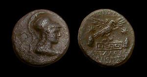 AE23 Apameia - Phrygia Magistrate ΑΤΤΑΛΟΥ ΒΙΑΝΟΡΟΣ (Athena / Eagle)