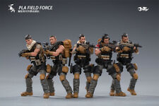 JOYTOY 81911052 1/18 Scale PLA Field Force Groupe 5pcs Figure Collection Set