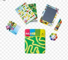 QATAR Airways In-Flight Kids Activity Pack THE GAME OF LIFE Sticker Board Game