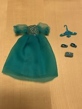 "Topper Dawn ""Party Puffery� Dress, Shoes, Purse, Hanger, In Great Shape, Notes"