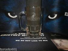 Eristoff vodka tankard glass New/Unused