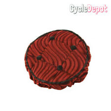 Lowrider Steering Wheel Cover In Red LOWRIDER SHOW BIKE ACCESSORIES (129218)