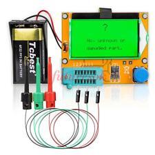 12864 Lcd Mega328 Transistor Tester Diode Triode Capacitor Esr Meter Pnp/Npn