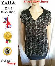 Zara Casual Polyester Shirts for Women