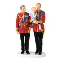 ROYAL DOULTON FIGURINE FUTURE KINGS HN5884 CHARLES WILLIAM GEORGE Ltd Ed New