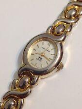 Sergio Valente Ladies Designer Gold Tone Good Condition Working Quartz Watch