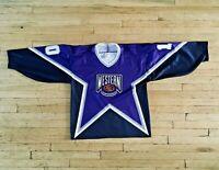 RARE!!! Vintage PAVEL BURE 1996 Western All Star jersey Sewn NHL ccm starter