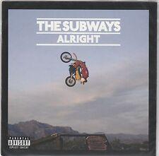 """The Subways - Alright - Deleted UK 2x 7""""set NEW"""