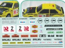 "decal 1/43 VAUXHALL CHEVETTE HS ""BRILMIJ"" RALLYE CONDROZ 1978 Arena D303"