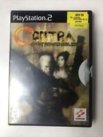 Contra Shattered Soldier PS2 Sony PlayStation 2 Complete  - Good