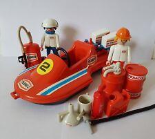 Playmobil Texaco Bundle-Bateau Oil Drums bidon figures