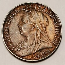 Great Britain Farthing 1899 VG Condition - Circulated Bronze 20mm