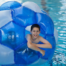 Aquafun Giggaball - GIANT Ride in Ball - Outdoor Tumbler, Inflatable Pool Toy,