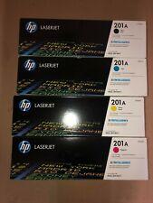 100% GENUINE HP TONER CARTIRDGES CF400A CF401A CF402A CF403A * 201A * KIT