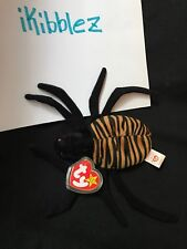SPINNER THE SPIDER BEANIE BABY MINT CONDITION WITH ERRORS RETIRED