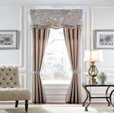 CROSCILL Estate ALEXANDRIA 5-Piece WINDOW COVERS Valance / Drapes New SHIP FREE