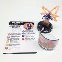 Heroclix Deadpool & X-Force set Pool Captain #066 Chase figure w/card!