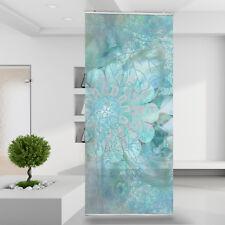 Raumteiler Vorhang Gardine Eisblume Abstrakt Natur Muster Ornament Blüte Blätter