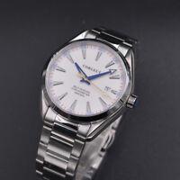 41MM Corgeut Sapphire crystal Luminous white dial mechanic  Automatic mens Watch