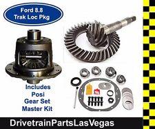 Ford 8.8 10 Bolt Trac Lock Posi Package Gear Set Master Kit 31 Spline 3.55 Ratio