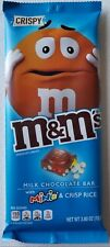 NEW M&M'S Crispy & Minis Milk Chocolate Candy Bar 3.8 Oz Free Worldwide Shipping