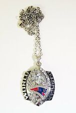 New England Patriots World Champs Necklace